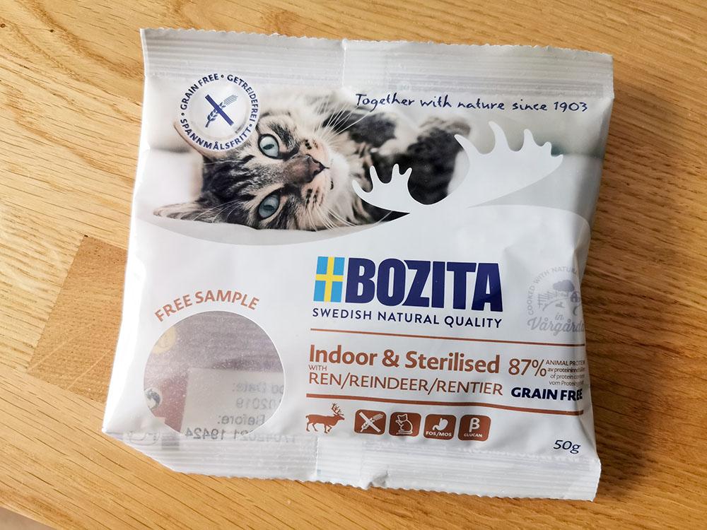próbki karmy dla kota bozita
