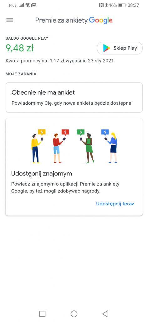 płatne ankiety google zarobek