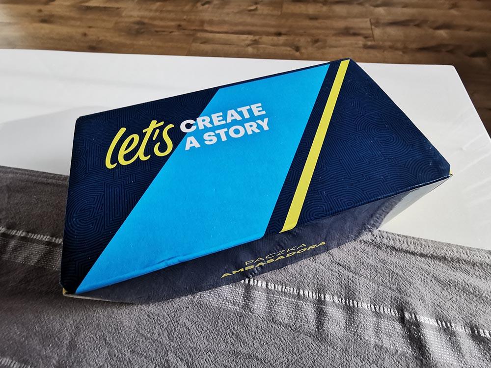 lets create a story paczka