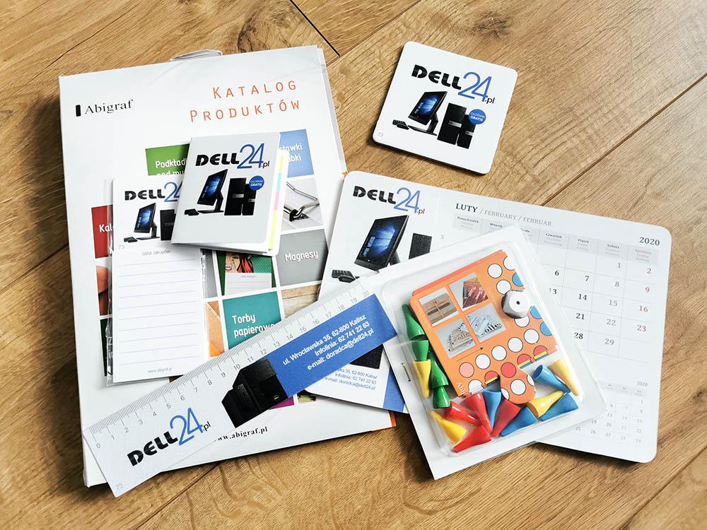 gadżety biurowe za darmo - kalendarz, linijka, karteczki