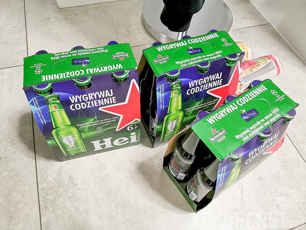 zapas piwa z biedronki oszczędzaj połowę 12 piw gratis