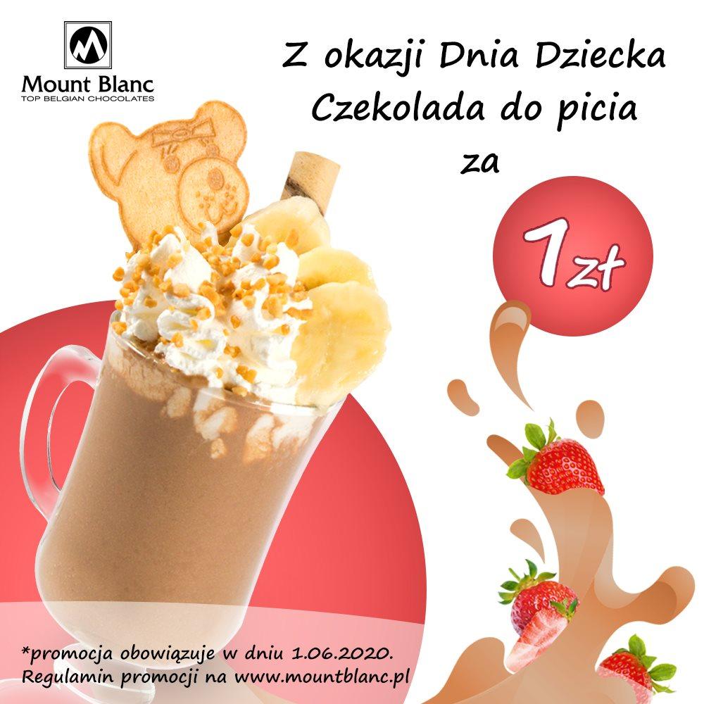 darmowa czekolada do picia dla dzieci mount blanc