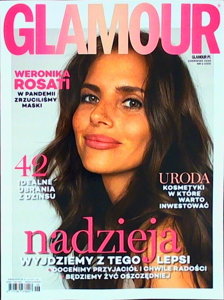 glamour czasopismo czerwiec 2020