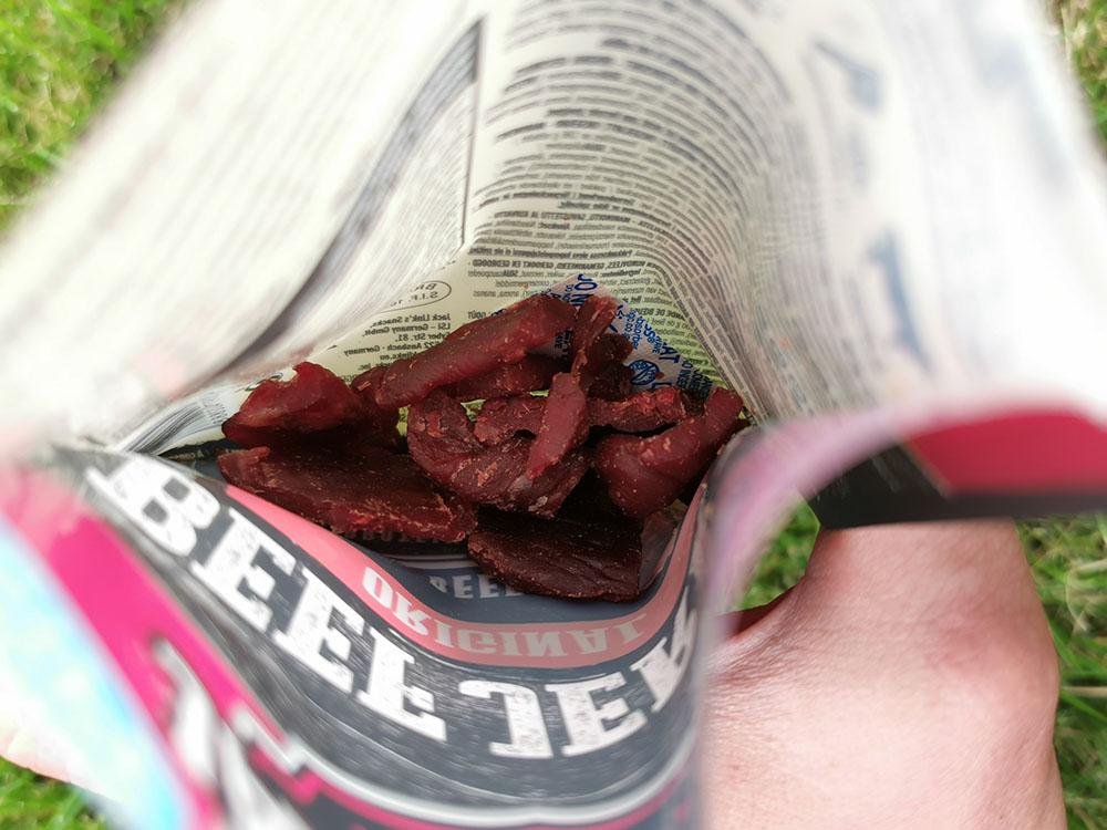 jak wygląda suszona wołowina jack links beef jerky