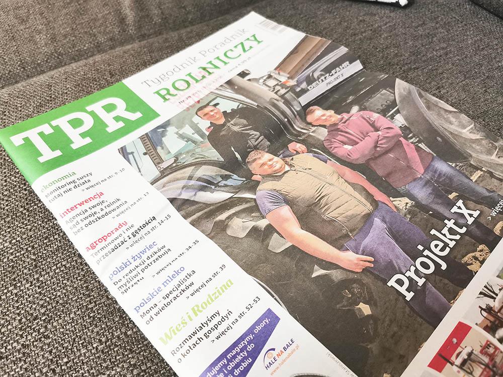 bezpłatny tygodnik rolniczy - gazeta