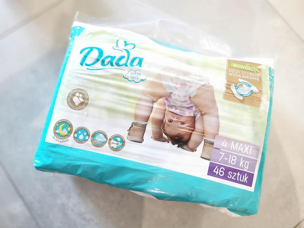 pieluszki dada dla dzieci za free