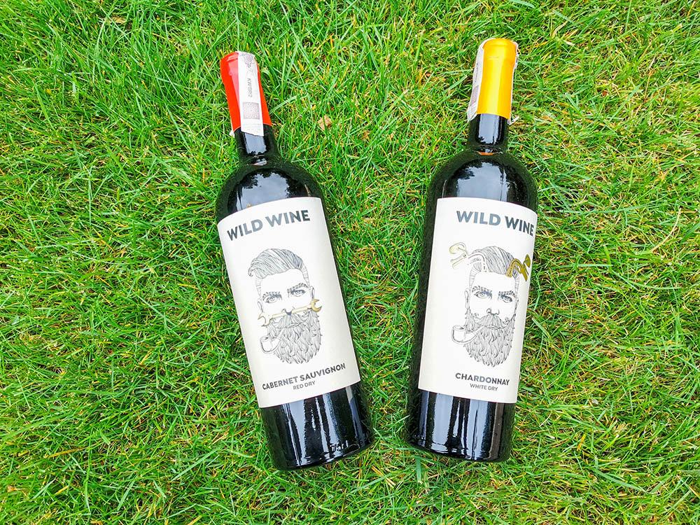 butelki wild wine prezent testowanie wina