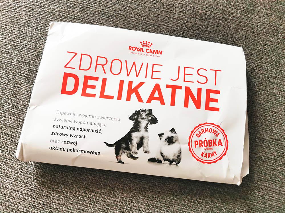 paczka powitalna royal canin gratis