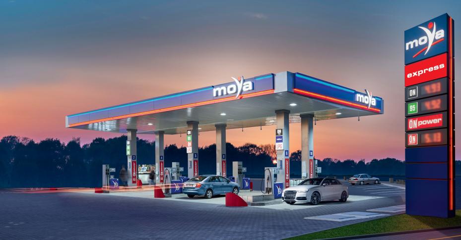tańsze tankowanie na stacjach moya express