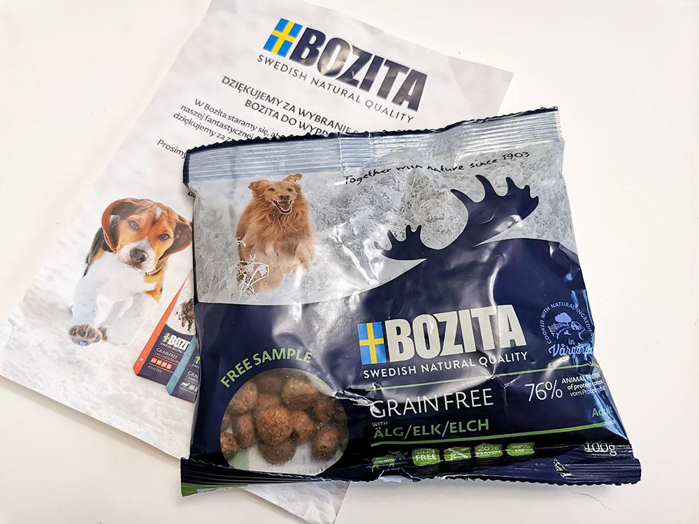 próbki karmy dla psa bozita