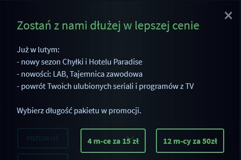 promocja player pl tvn za 50 pln