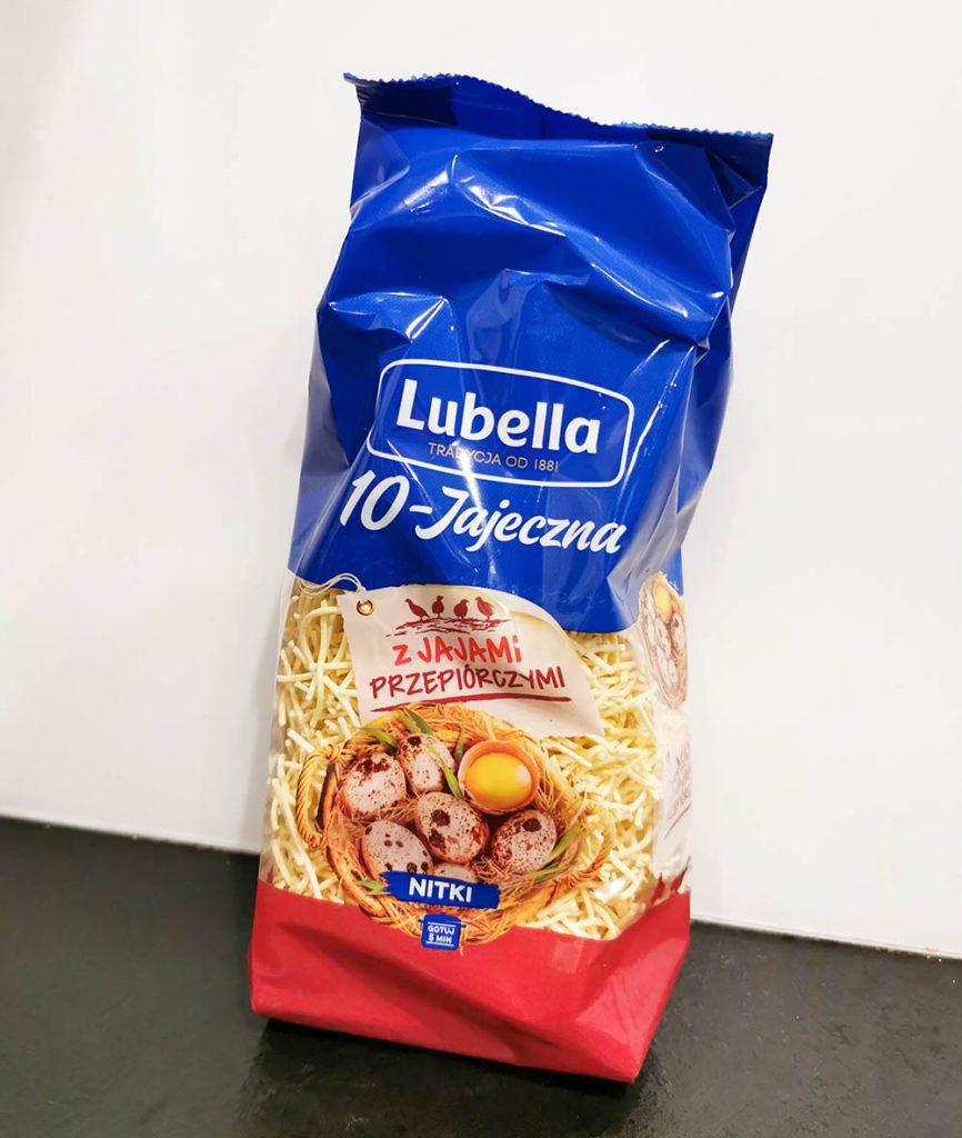 lubella makaron przepiórczy za darmo