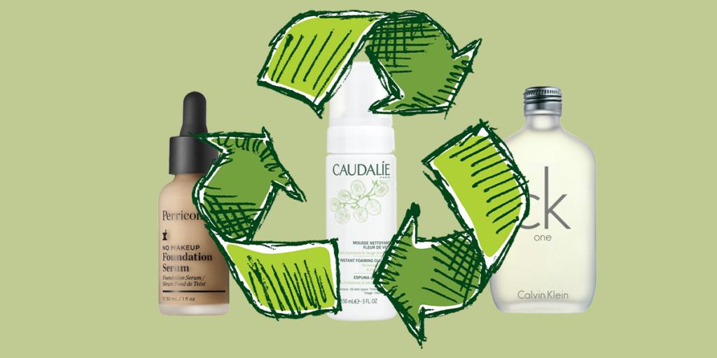 recykling butelek po perfumach