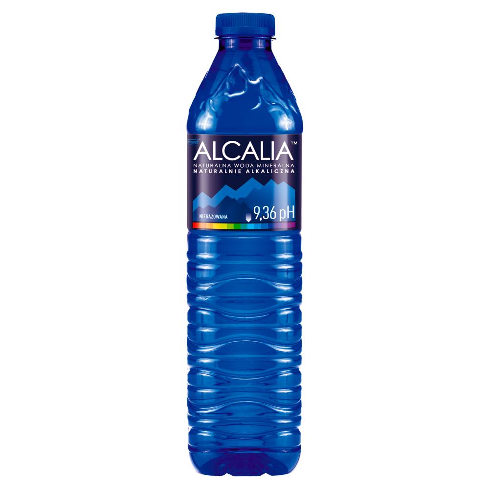woda mineralna alcalia za darmo w promocji cash back