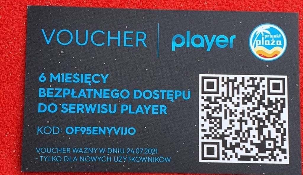 voucher subskrypcja player