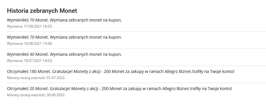 darmowe monety allegro screen